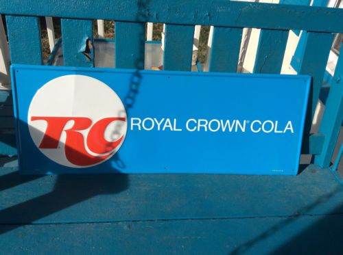 RC Royal Crown Cola Advertising Sign