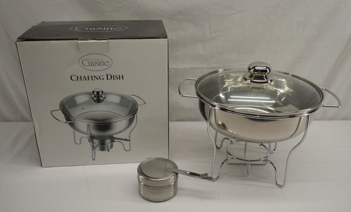 Classic Cuisine Stainless Steel Chafing Dish NEW