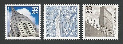 New York City Chrysler Empire State United Nations Secretariat Building Stamps!