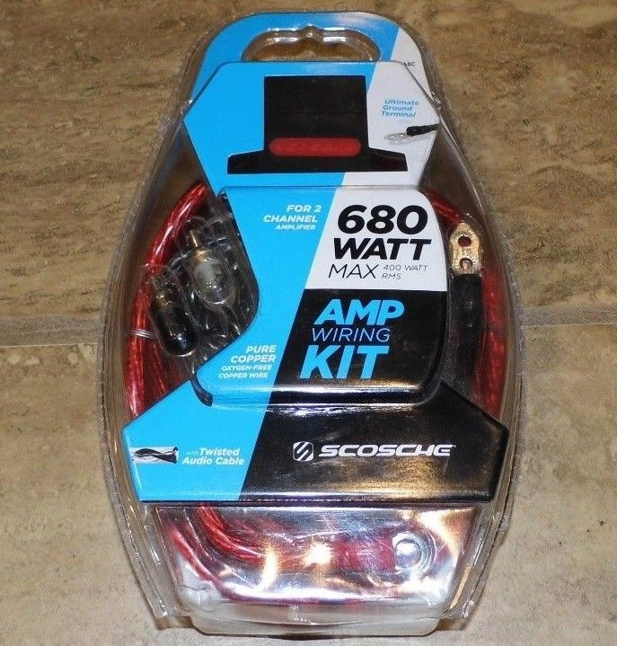 Scosche Wiring Kit - For Sale Classifieds
