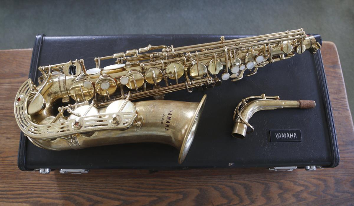 Yamaha Alto Saxophone YAS 61 recently repadded!!