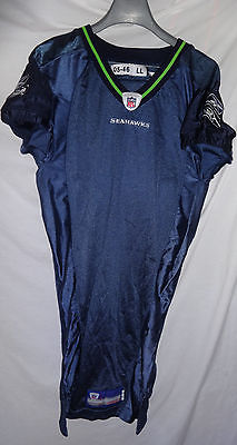 2005 Seattle Seahawks Home NFL Team Game Issued Football Jersey 05-46