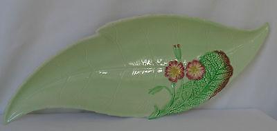 Vintage Carlton Ware Australian design leaf dish