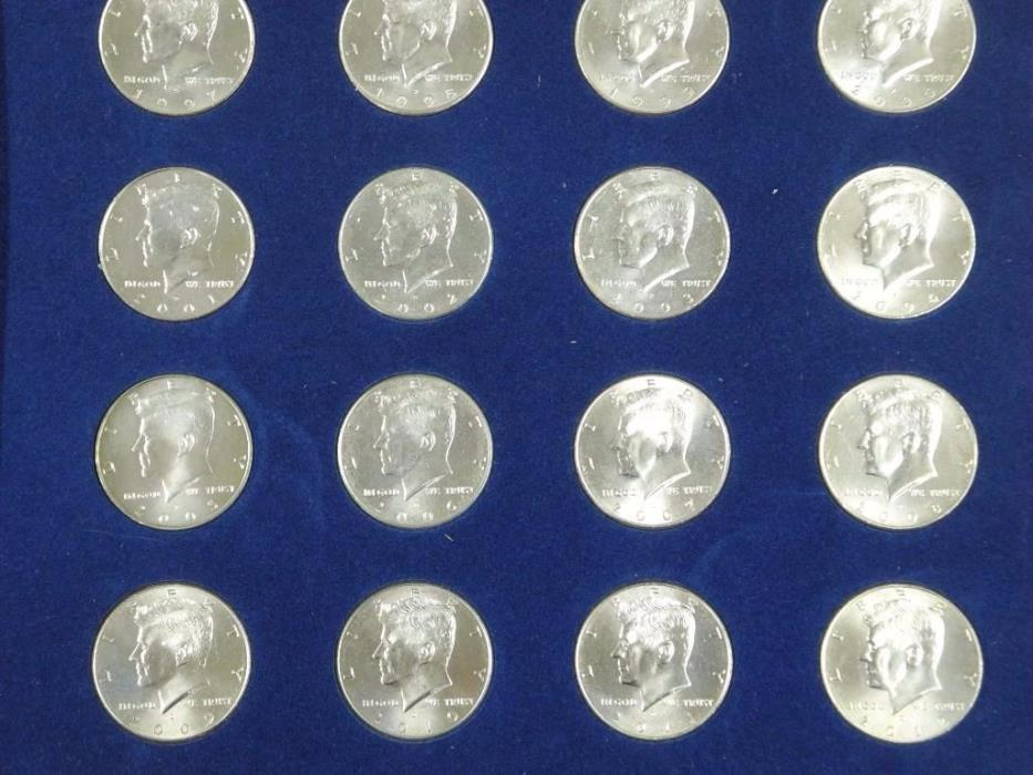 COMPLETE JOHN F. KENNEDY HALF DOLLAR COLLECTION 1964-2012
