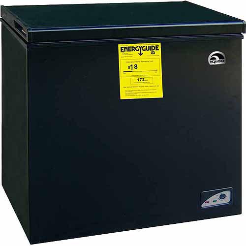 Igloo 5.1 cu ft Chest Freezer Black