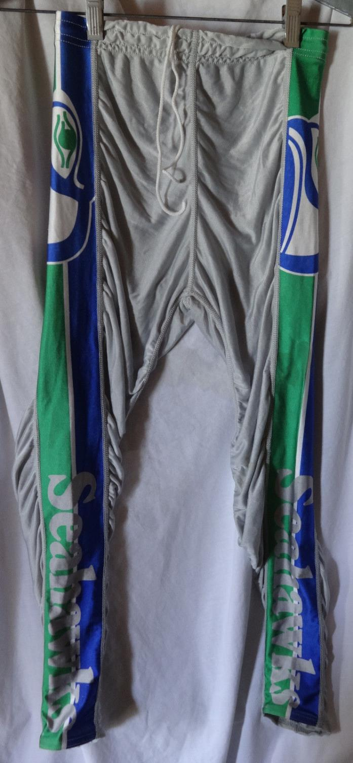Vintage SEATTLE SEAHAWKS #80 Steve Largent Pre Game Work Out Jersey Pants