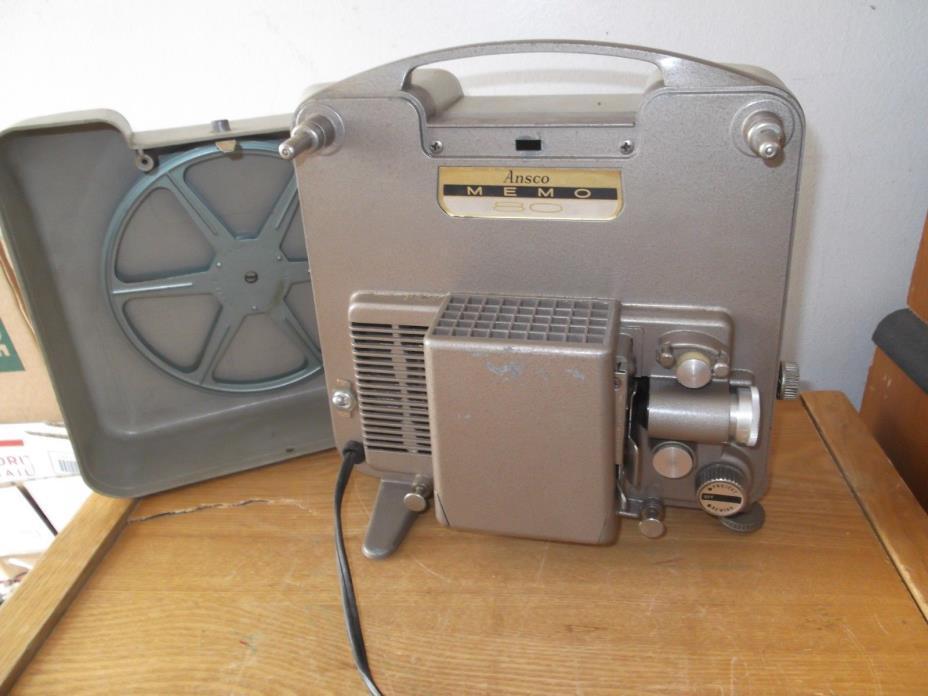 Vintage Ansco MEMO 80 Film Projector * Working