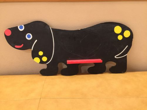 Alex Toys Puppy Kids Decor Creative Drawing Writing Educational Black Chalkboard