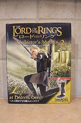 Lord of the Rings Collector's Models #2 Legolas at Helm's Deep Japan Import