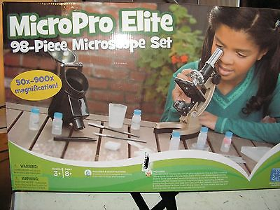 MicroPro Elite 98 pc. Microscope Set - 50 x 900x