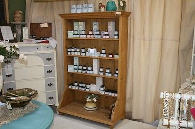 Solid Pine Cabinet Book Case TV Cabinet Shelving Storage 72