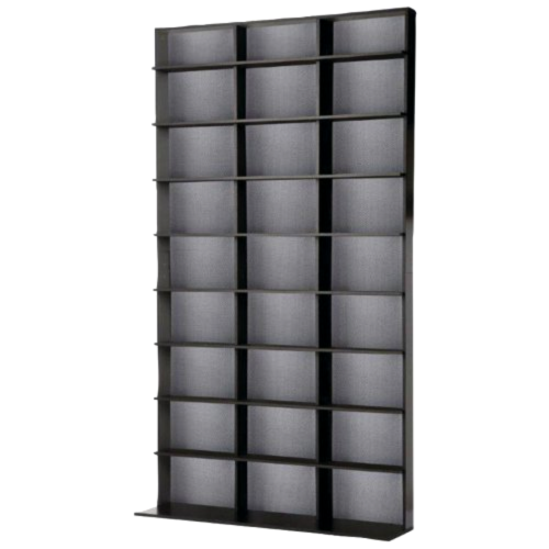 Atlantic Media Storage Cabinet DVD CD Tower Rack Shelf Shelves Organizer Holder