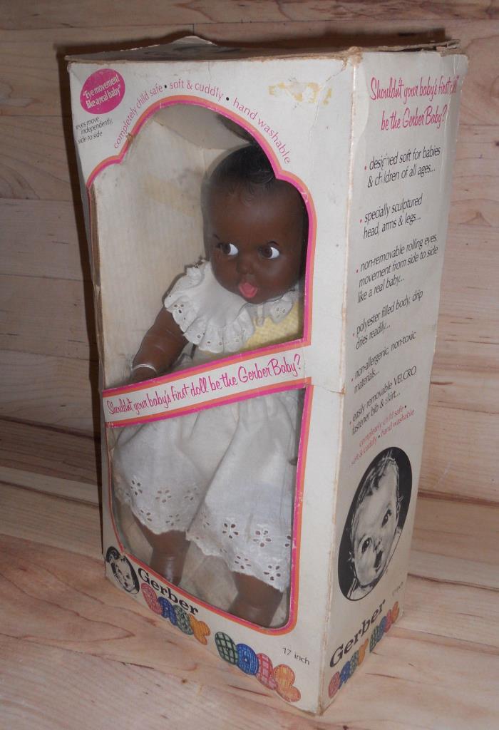 VINTAGE AFRICAN AMERICAN GERBER BABY Doll 17