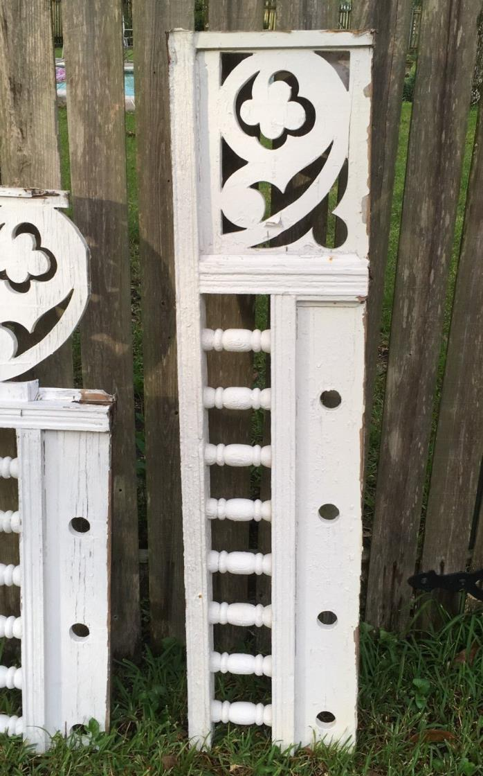 ANTIQUE RAILING 8 BALUSTERS 1800s ARCHITECTURAL SALVAGE VICTORIAN 57