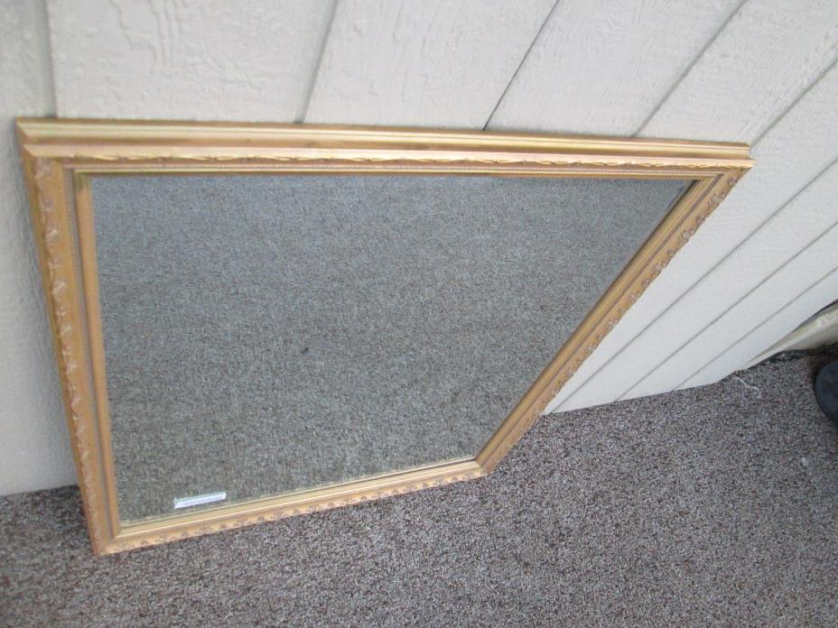 00001  Gold The Frame Game Decorator mirror