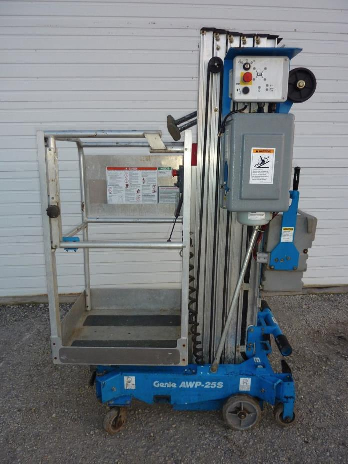 Genie Personnel Lift For Sale Classifieds