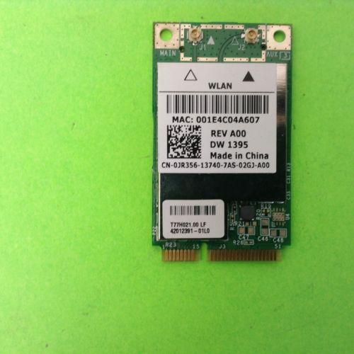 0JR356 BCM94312MCG Vostro 1000 Laptop Wireless Wlan Wifi Card Network Broadcom