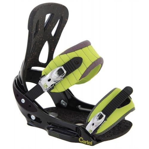 RARE BRAND NEW BURTON CARTEL EST GMP MENS LARGE SNOWBOARD BINDINGS 2009
