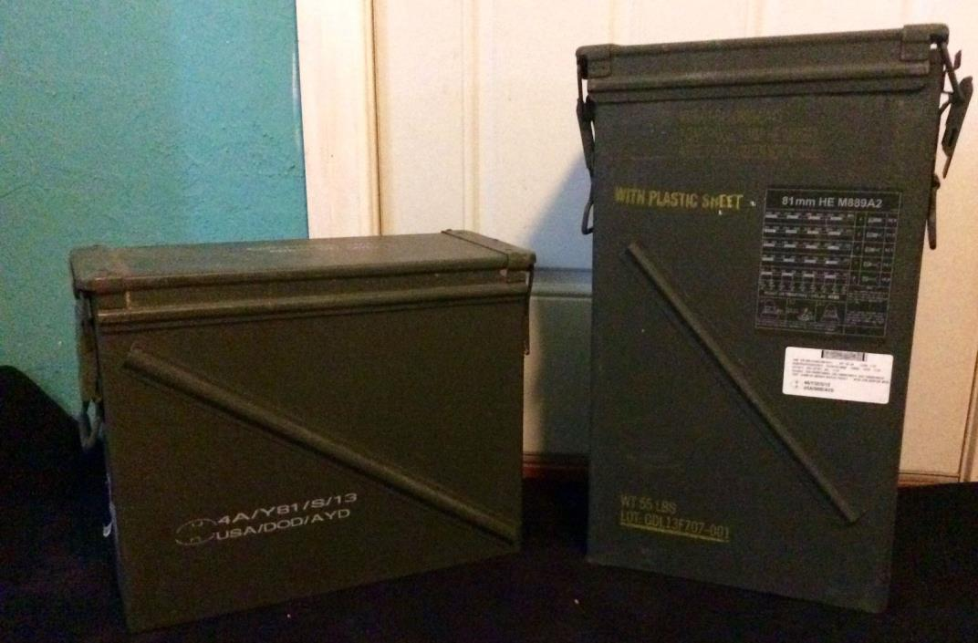 81mm and 20mm ammo cans