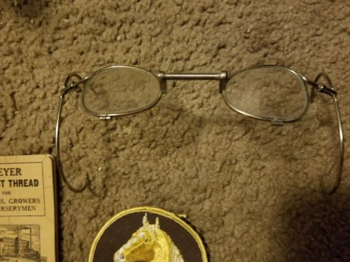 Rare Spectacles Glasses Palomino Patch Meyers  lot Antique
