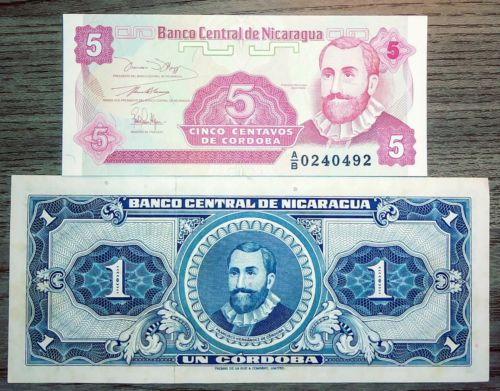 Nicaragua Paper Money
