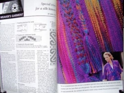 Weaver's Magazine 39 Crackle Silk Plaited Twills Weaving Magazine Projects