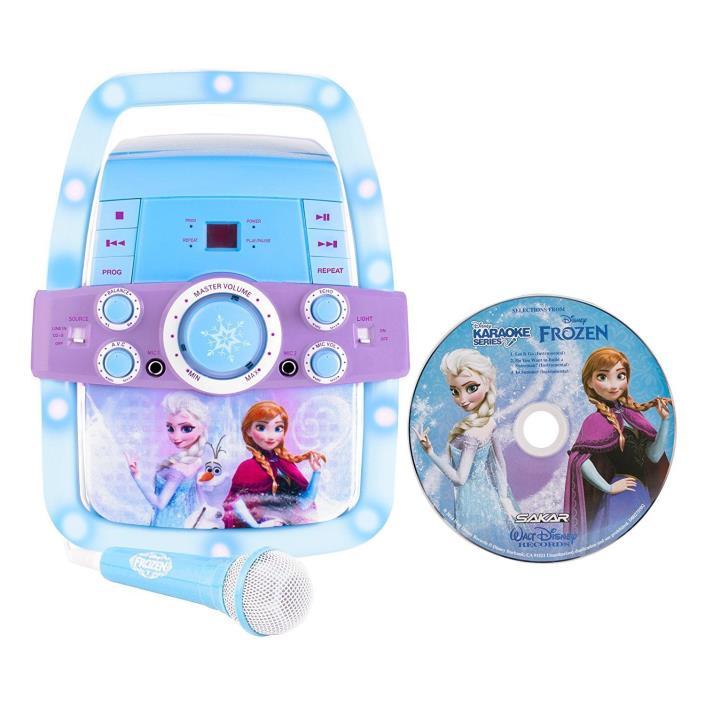 Disney Frozen Magical Karaoke Machine 65827-ESP ~ Brand New In Box