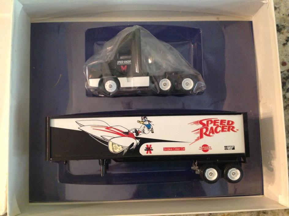 Winross 1:64 Scale Speed Racer Enterprise / Winross Favorites Tractor & Trailer