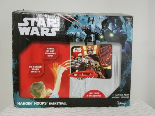Star Wars hanging Hoops basketball over-the-door basketball game