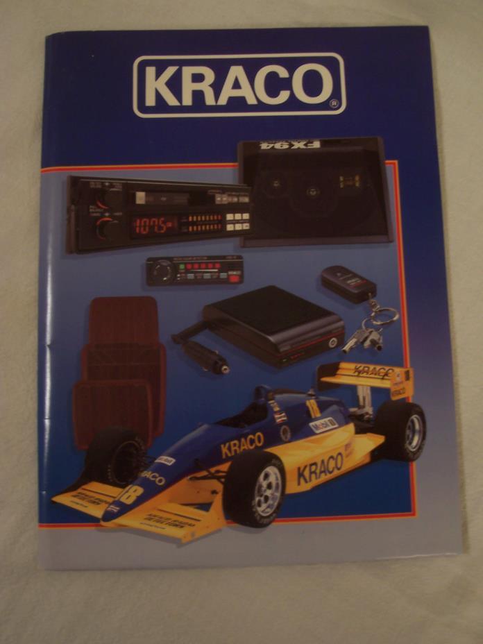 89 BOBBY RAHAL KRACO INDY CAR RACING TEAM CART PPG INDY 500 PRESS KIT!