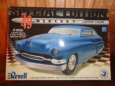 Revell '49 Mercury Custom Coupe Special Edition Painted Body Complete 1/25 Look