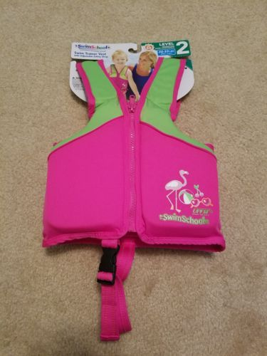 SwimSchool Swim Trainer Vest with Adjustable...Level 2 20-33 pounds 20 in chest
