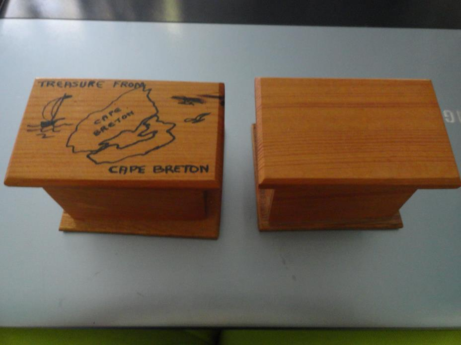 Chest Handmade Wooden, treasure chest, pirate chest, small miniature, Signed
