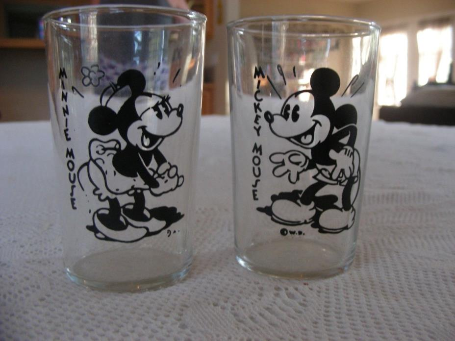 Antique Mickey and Minnie Mouse Children's glasses