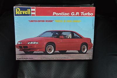 Vintage REVELL Pontiac Grand Prix GP Turbo 1/25 Model Kit - SEALED
