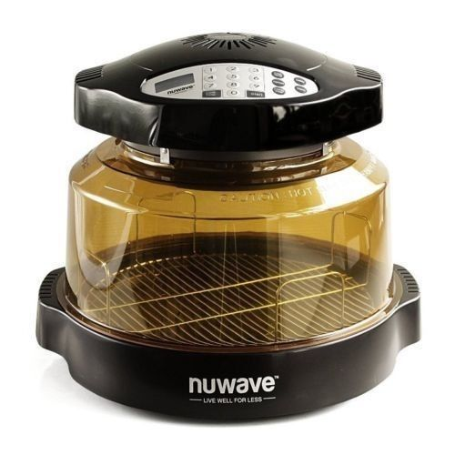 NuWave Infrared Oven Pro Plus with Extender Ring Kit Model #20602 - Power Dome