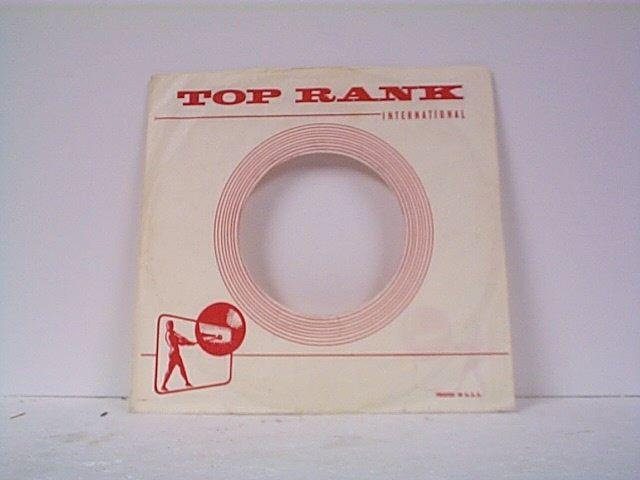 1-TOP RANK  COMPANY 45's SLEEVES  LOT #130-S
