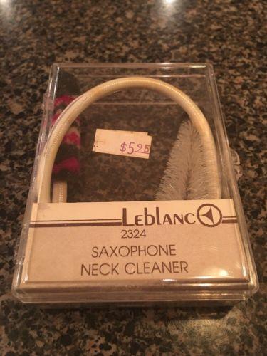 Vintage Leblanc Saxophone Neck Cleaner 2324 With Case Free Ship