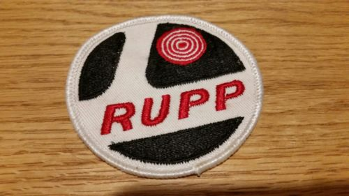 Vintage RUPP Factory Minibike Snowmobile Patch for Jacket or Hat 1960's 1970's