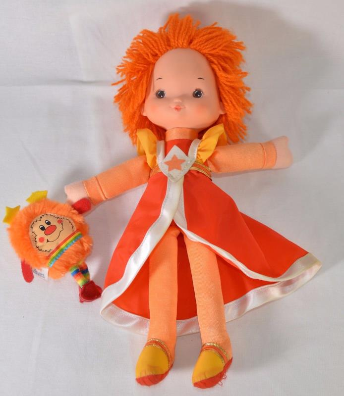 Lala plush doll Rainbow Brite 10