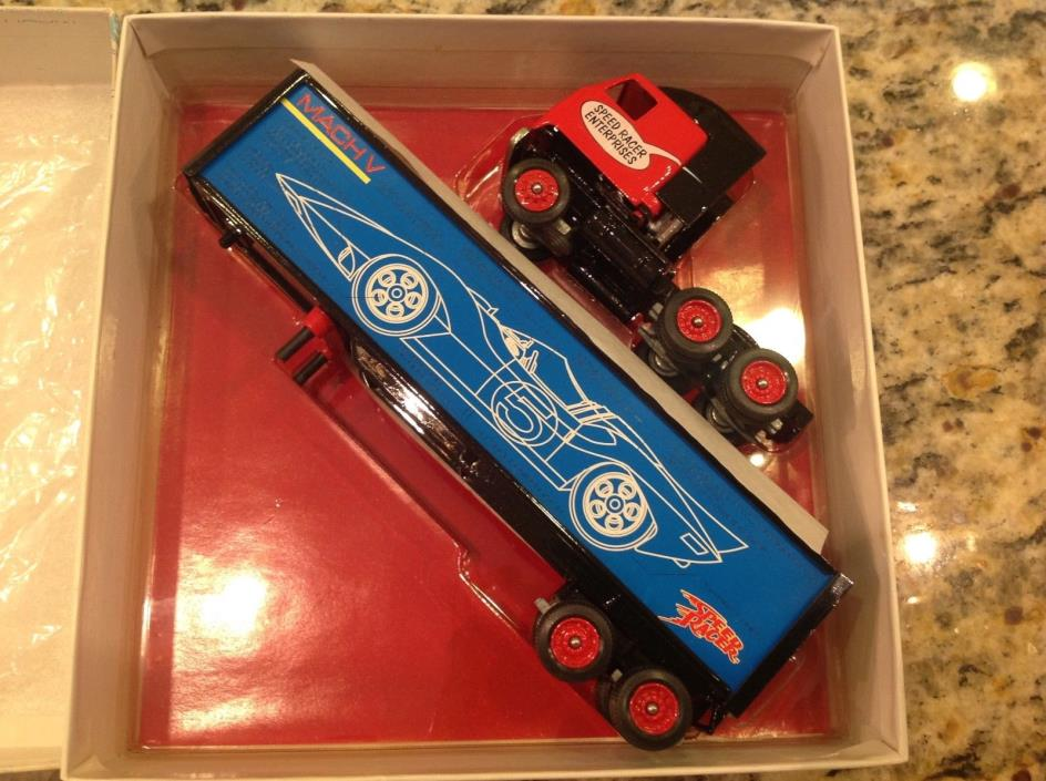 1997 Winross 1:64 Scale Speed Racer Enterprises / Mach V Tractor & Trailer NICE