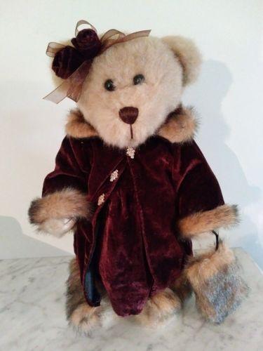 Vintage Creative Design LTD Bear Plush Standing Decoration Figure Collector Bear