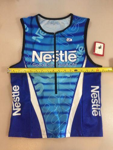 Sugoi Nestle Fuel Triathlon Tank Top Size Extra Large XL (5504)