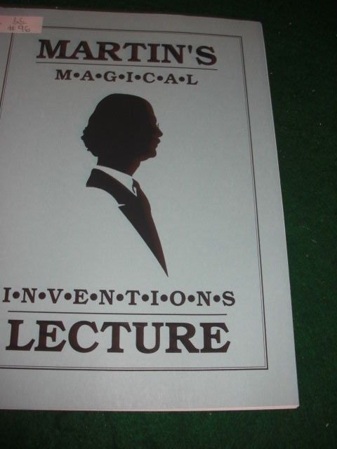 Martin's Magical Inventions - Lecture Notes - Marti Lewis