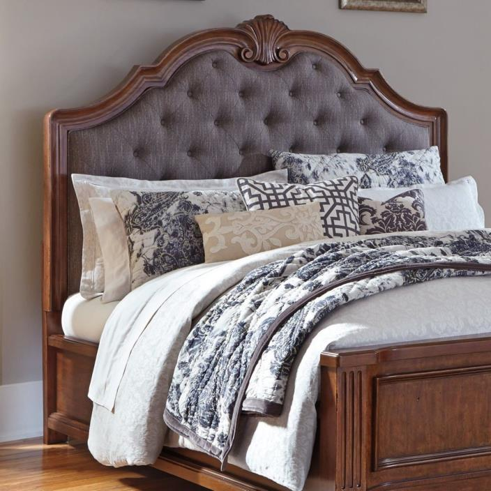 Arched Upholstered Headboard (King)