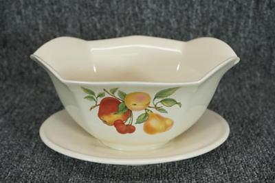 Teleflora Flower Vase With Fruit Motif