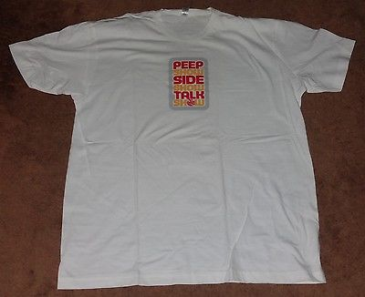 THE GRAHAM NORTON EFFECT TEE SHIRT ADULT XL COMEDY CENTRAL TALK SHOW