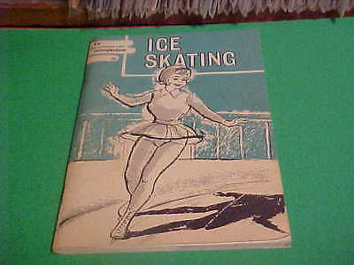 1973 AN INTRODUCTION TO ICE SKATING BOOK BY ICE SKATING INSTITUTE OF AMERICA