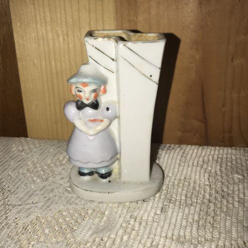 Vintage Raggedy Ann Bud Vase Unusual Creepy Strange