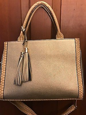 Purse Gold with strap